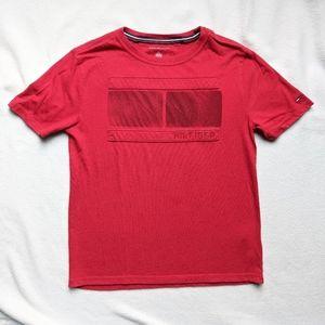 2 Tommy Hilfiger boys t-shirts size 8-10